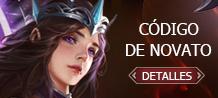 Código de Novato - Legend Online